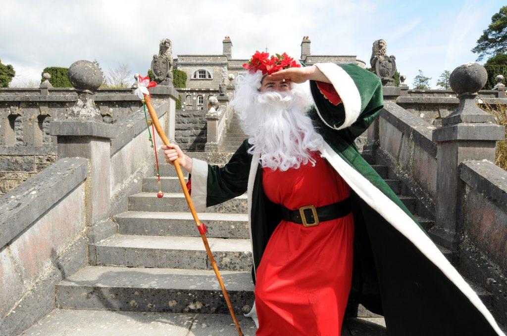 best santas, santa, ireland, christmas, belevedere house