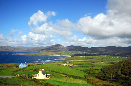 Beara Peninsula, View over Allihies