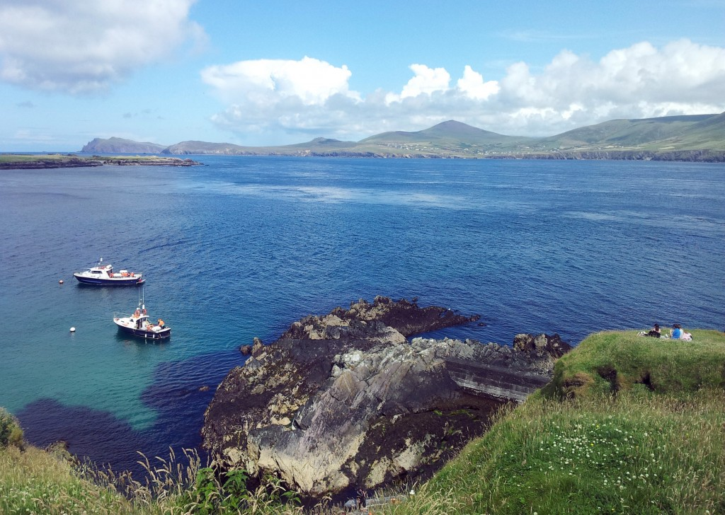 View of Blasket Islands from the Dingle Peninsula, Co. Kerry