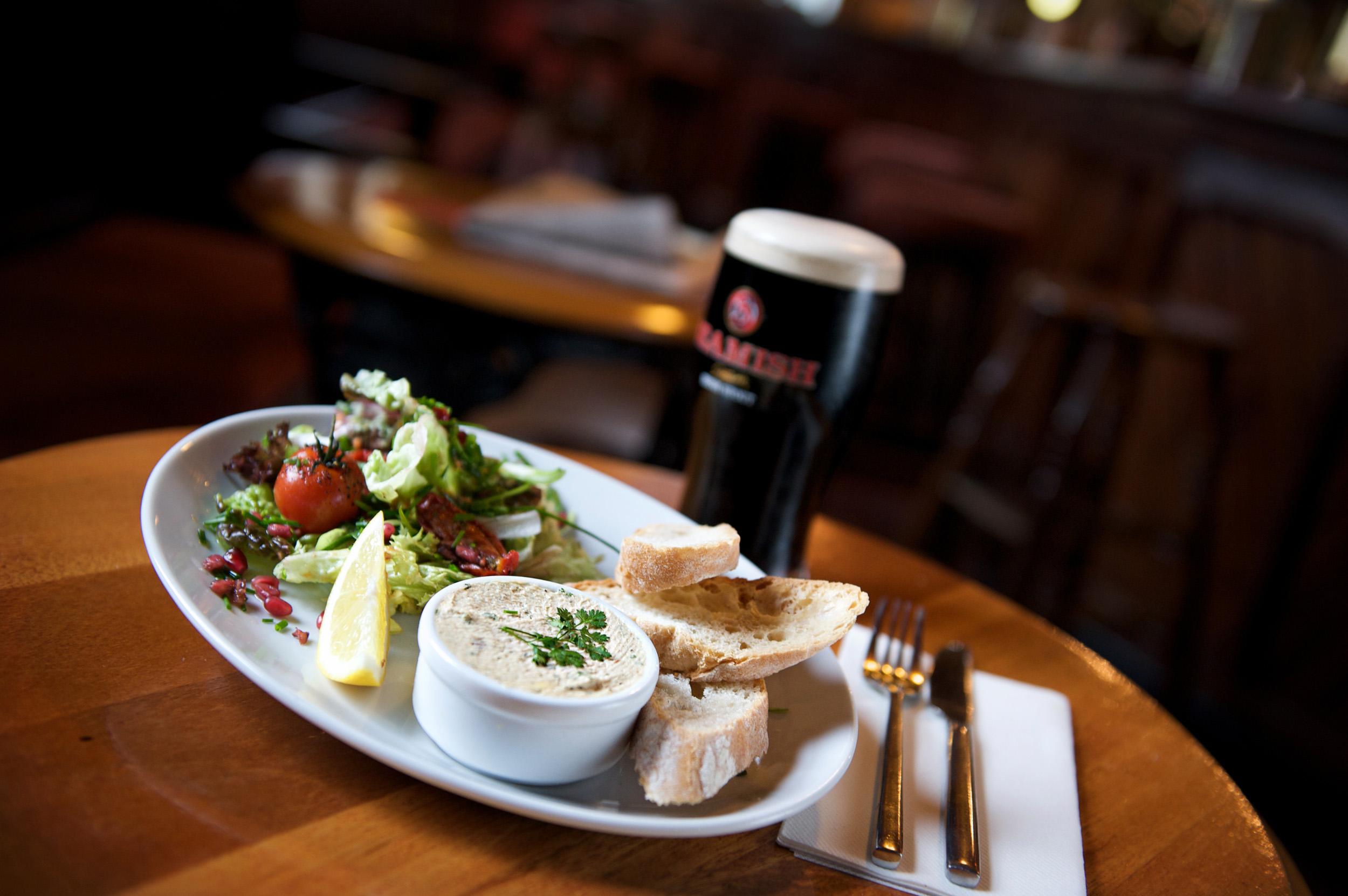 10 best irish gastro pubs for Bar food top 10