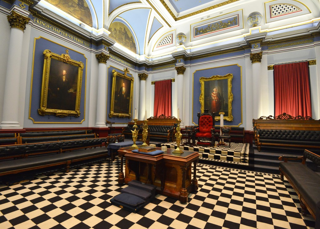 freemason's hall, dublin, grand lodge room