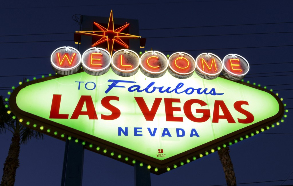 'WELCOME TO FABULOUS LAS VEGAS' SIGN GOES GREEN FOR ST PATRI