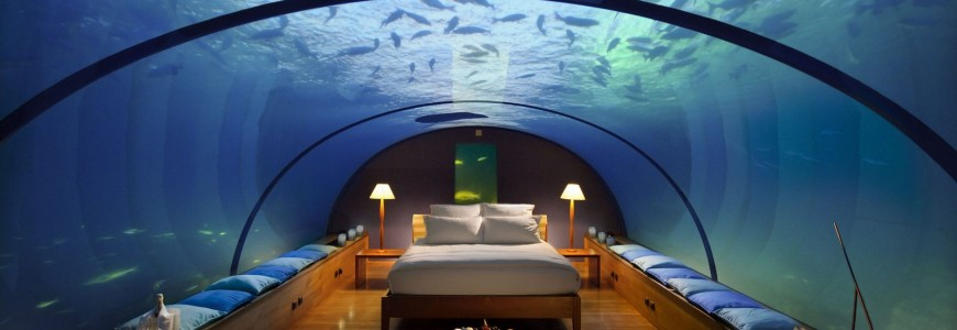 incredible, unusual hotel rooms