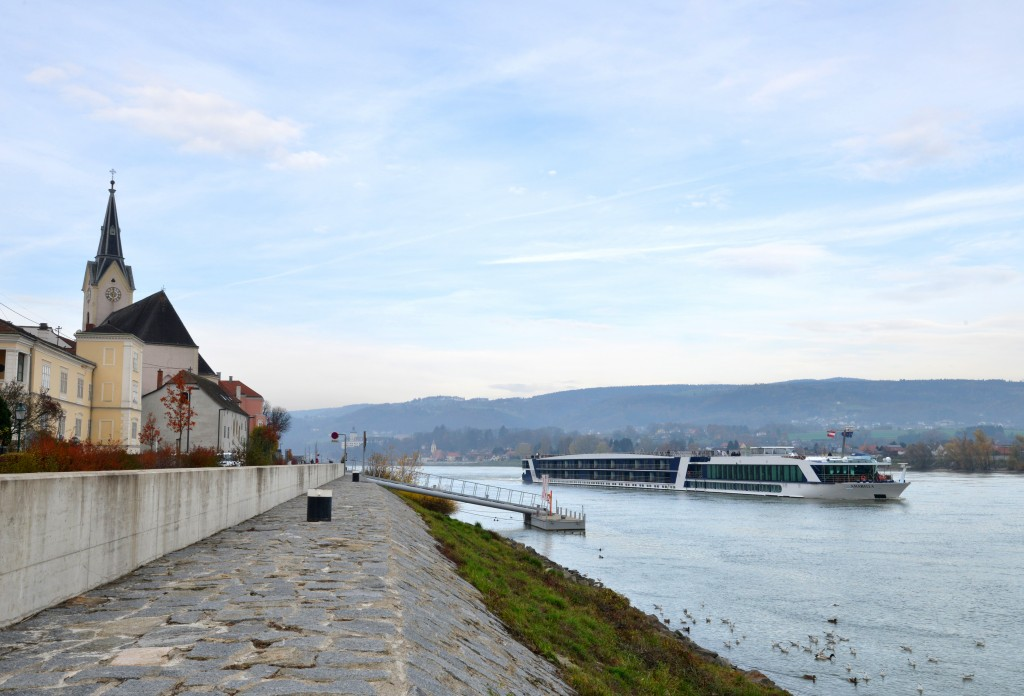 MS AmaBella, on the River Danube.