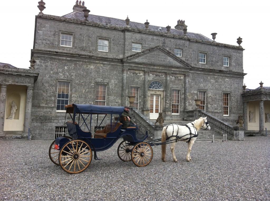 Russborough, horse & carriage