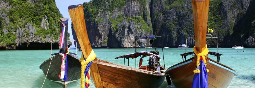 Phuket, Thailand - Boats on Beach-1