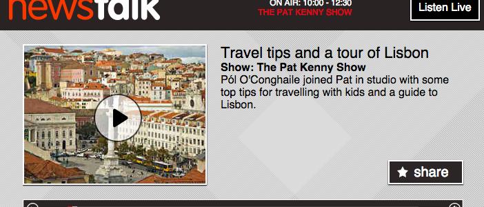 Travel, pat kenny