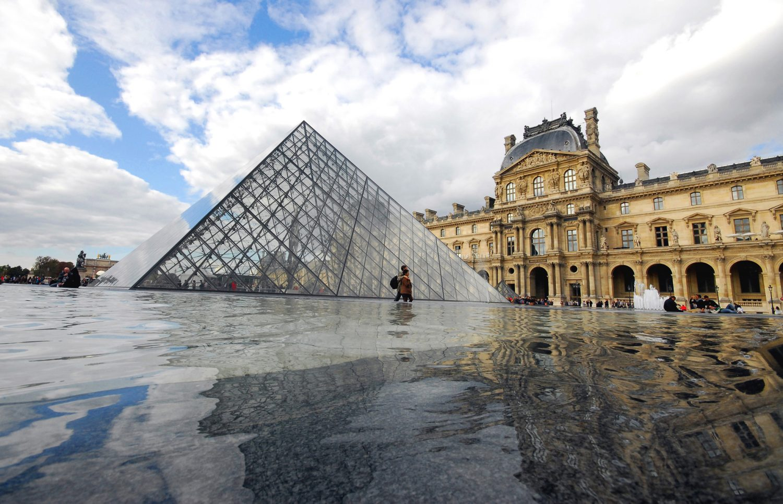 Paris, Louvre, copyright