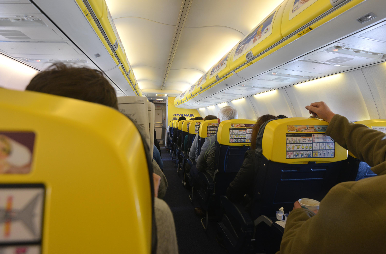 Интерьер Ryanair